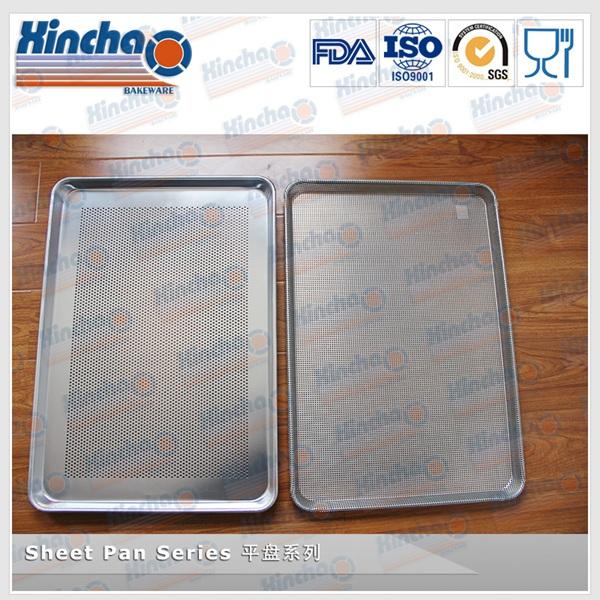 13 18 Inch Aluminum Full Perforated Bun Cookie Sheet Pan